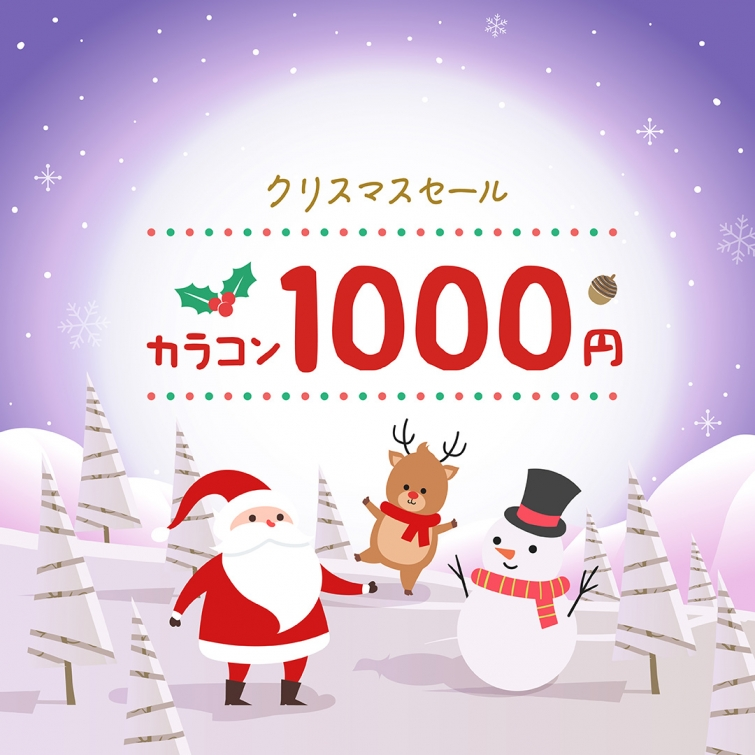 Chrsitmas Sale ① ☃ ワンデー1,000円